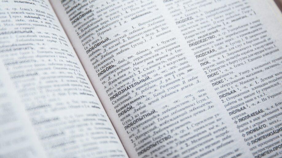 словарный запас